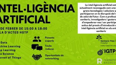Jornada intel·ligència artificial Campus Can Ruti